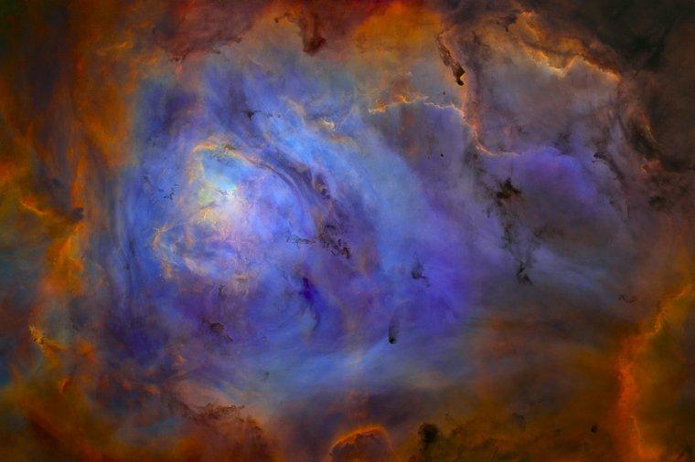 Nébuleuse de la Lagune = M8 = NGC 6523