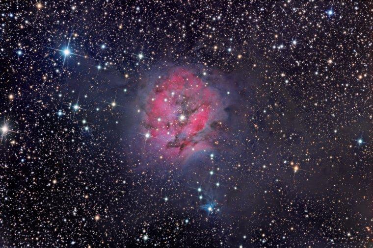 IC 5146 = cocoon nebula = Nébuleuse du Cocon