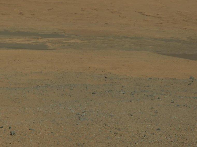 Photographies du robot Curiosity sur Mars