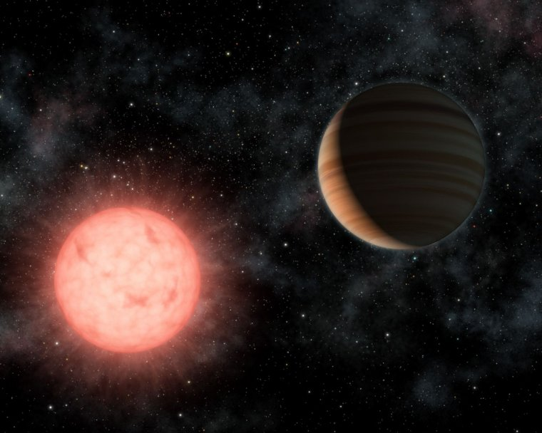 Espoir d'une exoplanète habitable