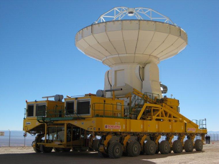 ALMA = Atacama Large Millimeter Array