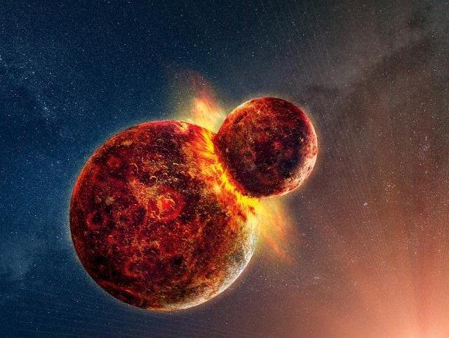 Collision entre 2 univers différents