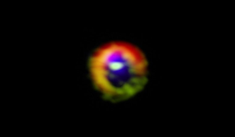 Naissance d'un système planétaire autour de son étoile