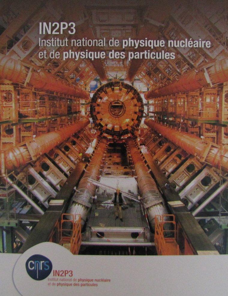 IN2P3 = Institut national de physique nucléaire et de physique des particules