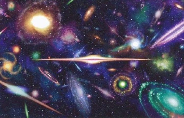 Naisance galactique