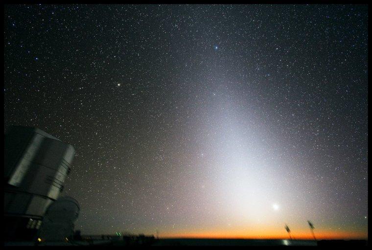 Lueur zodiacale = Lumière zodiacale