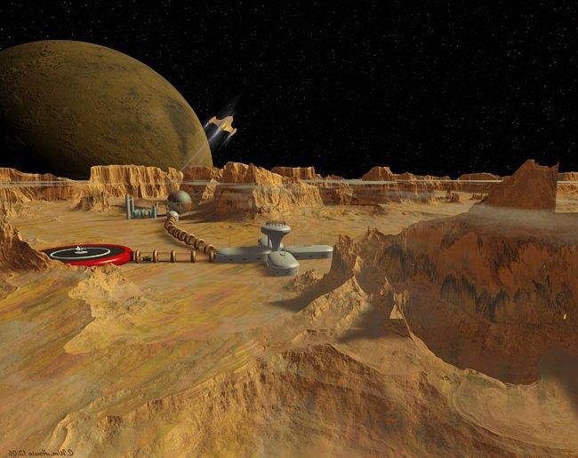 Exploration de la lune de Mars : Phobos