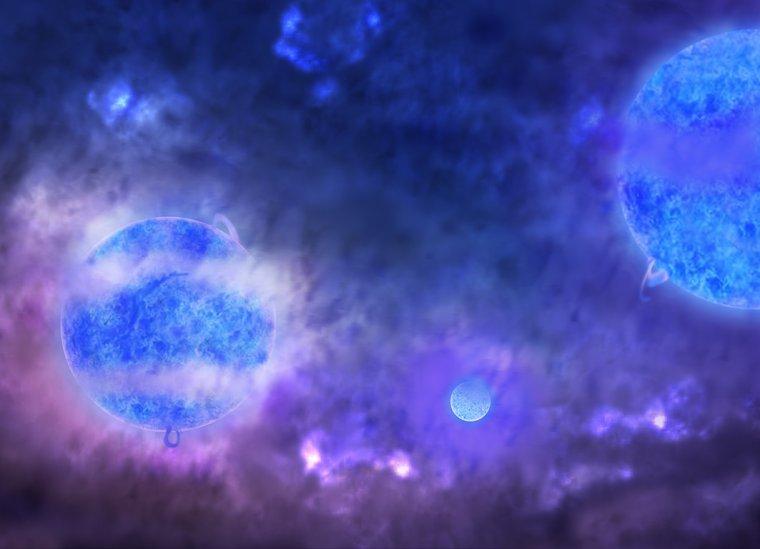 #21 -> Ère de la naissance des étoiles