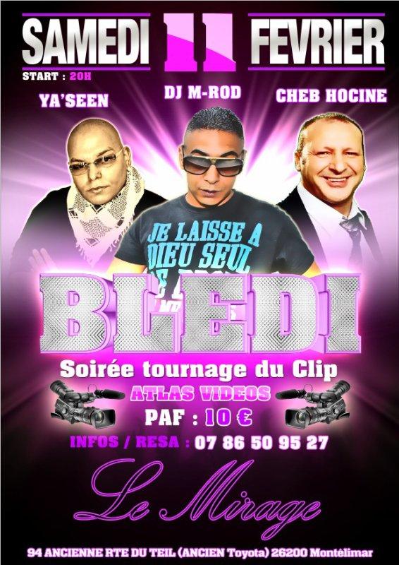 "TOURNAGE DU CLIP BLEDI "" YA'SEEN feat CHEB HOCINE"" DJ M-ROD African mix 2012"