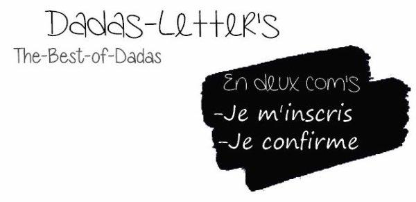Dadas-letter's