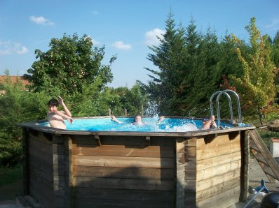 Un après midi dans la piscine