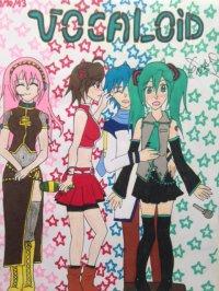 2013 - Vocaloid : Megurine, Meiko, Kaito, Miku