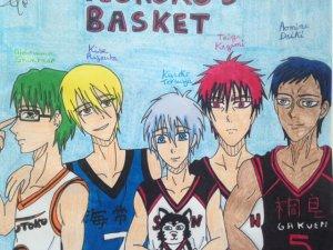 2014 - Kuroko's basket - Kuroko/Junior/Kagami/Aomine/Kise/Midorima