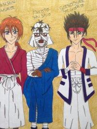 2014 - Kenshin - Kenshin/Shishio/Sanosuke