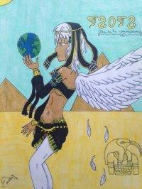 2014 - Kamigami no asobi : Thoth (femme)