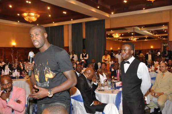 yaya toure a kinshasa pour soutenir son ami fally ipupa
