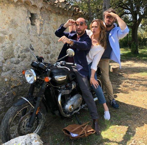 Moïse Santamaria & Mélanie Maudran & Benjamin Bourgois