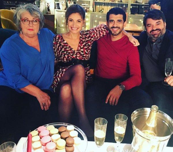 Maryline & Davia & Bilal & Gary