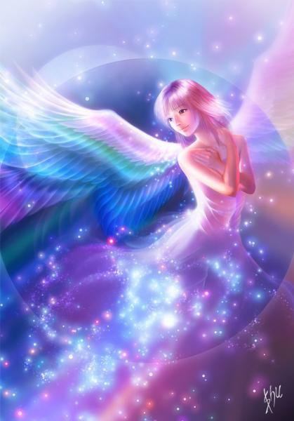 L'ange de are-en-ciel