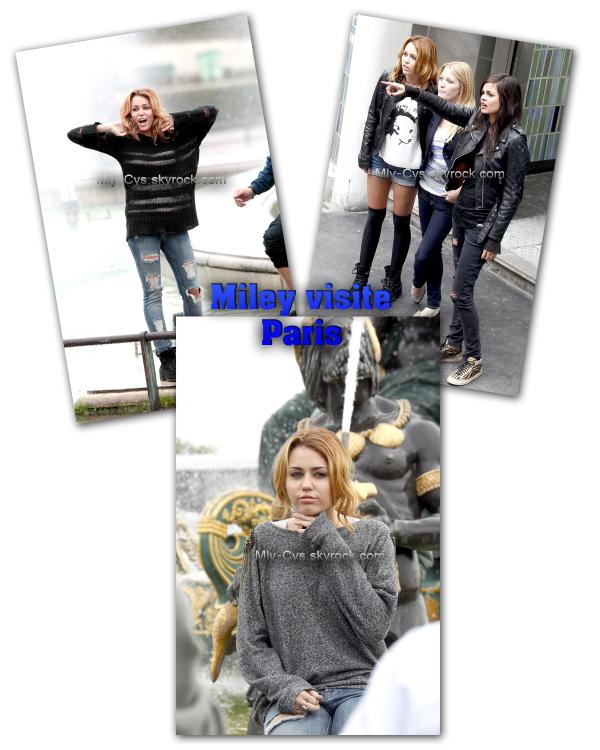 Comme les news de Miley sont un peu morte pour le moment, je vous propose une petite selection de photos sur le tournage de son film LOL.    Objectif 2000 commentaires !