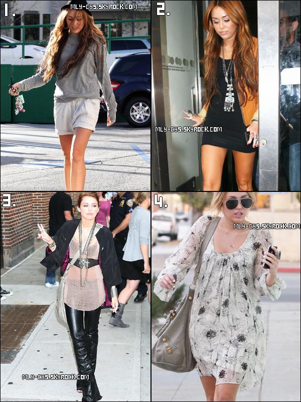 .   27 Janvier 2011 : Quel tenue de ville de Miles tu préfères? La 1. ? La 2. ? La 3. ? La 4. ? Dis-le moi par commentaire !.