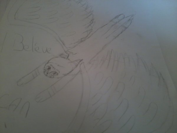 I believe I can Fly #dessin hors commune