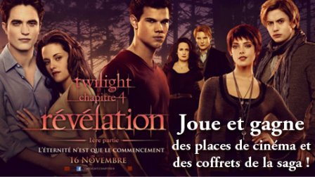 Concours Twilight chez lecture-Academy!