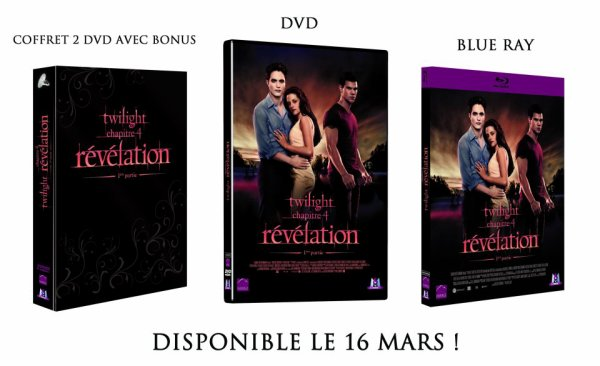 Visuel des DVD Français