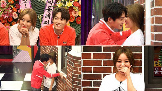 """Match Made In Heaven Returns"" : L.Joe (Teen Top) essaye de séduire Narsha (BEG) avec un commentaire interdit aux mineurs ?"