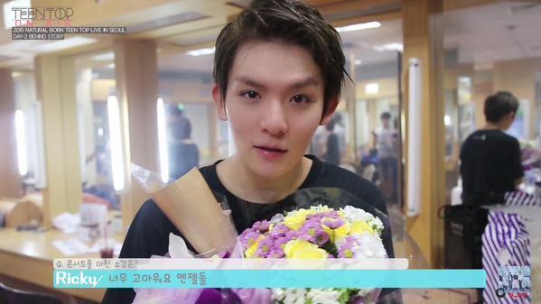 TEEN TOP ON AIR - 2015 NATURAL BORN TEEN TOP VIVENT DANS SEOUL 비하인드 2+