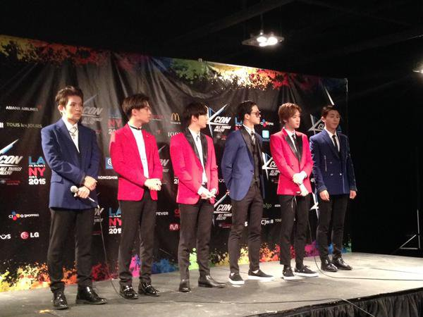 KCONUSA #틴탑 fan engagement PHOTOS TEENTOP+ love coming to #KCON15NY and meeting fans!