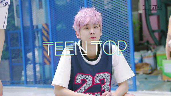 150810 TEEN TOP (Teen Top) Idol étoiles Athlétisme Basket Futsal championnats de tir 1+ 150812 The Star Magazine Aug 2015 Issue - TEENTOP Making Story