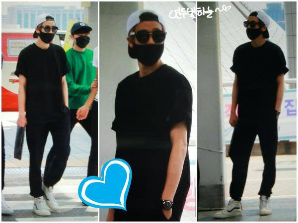 150828 #틴탑 at ICN Airport heading to India PHOTOS