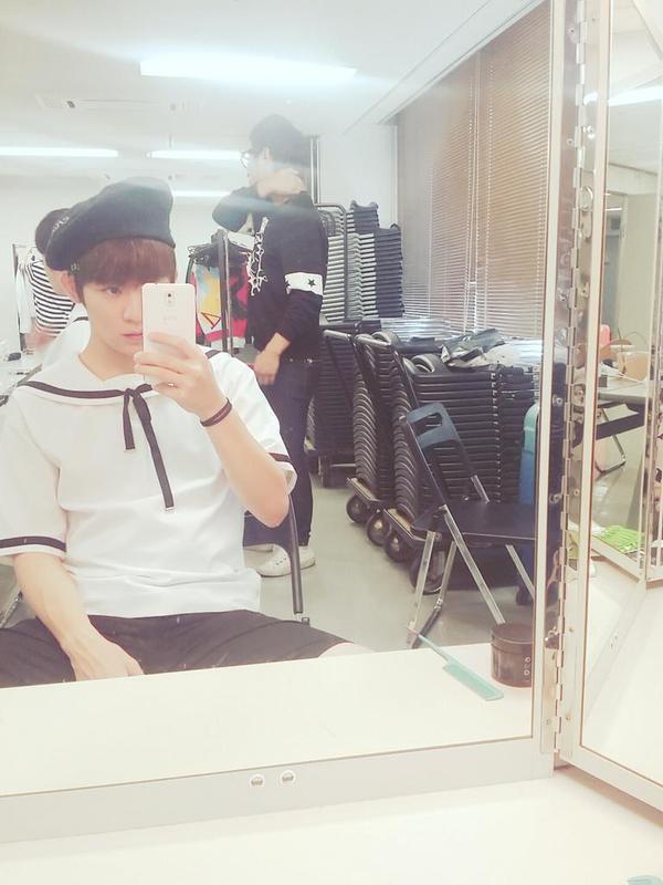150905 #틴탑 at Mango TVLive REPETITION - Rehearsal for 2015 DMC K-POP Super Concert.+