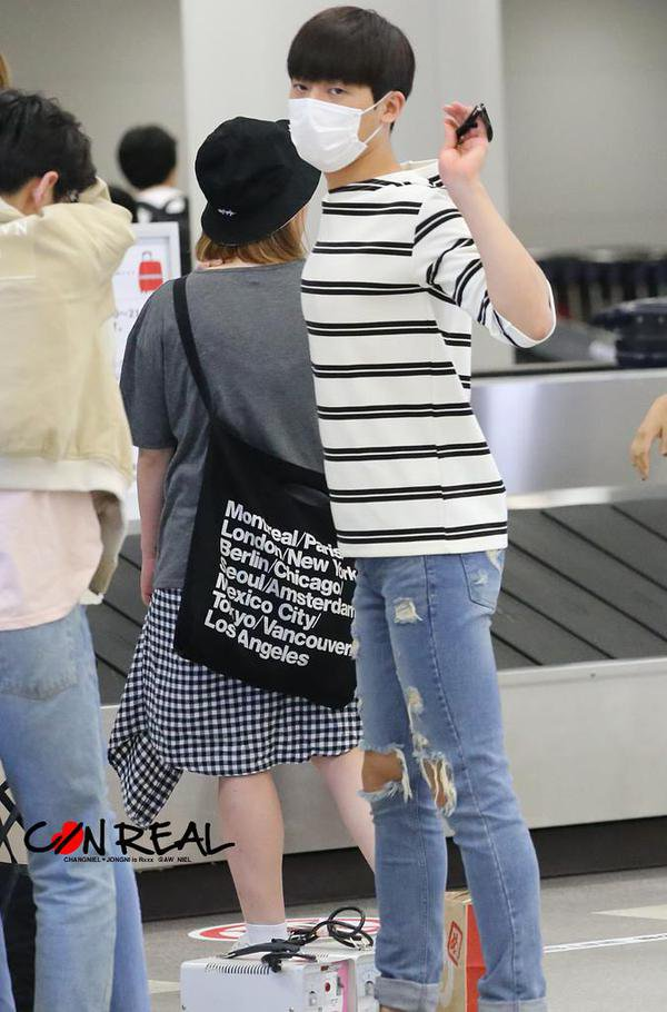 #틴탑 'NATURAL BORN TEEN TOP' Event in Fukuoka, Japan PHOTOS+150907 TEEN TOP  arrived at Nagoya Airport PHOTOS