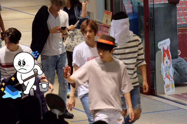 #틴탑 at Incheon Airport depart to Fukuoka, Japan+〔IMAGES | 150907〕# TEENTOP amuser dans l'événement spécial pour le lancement de 'Natural Born' à Nagoya,