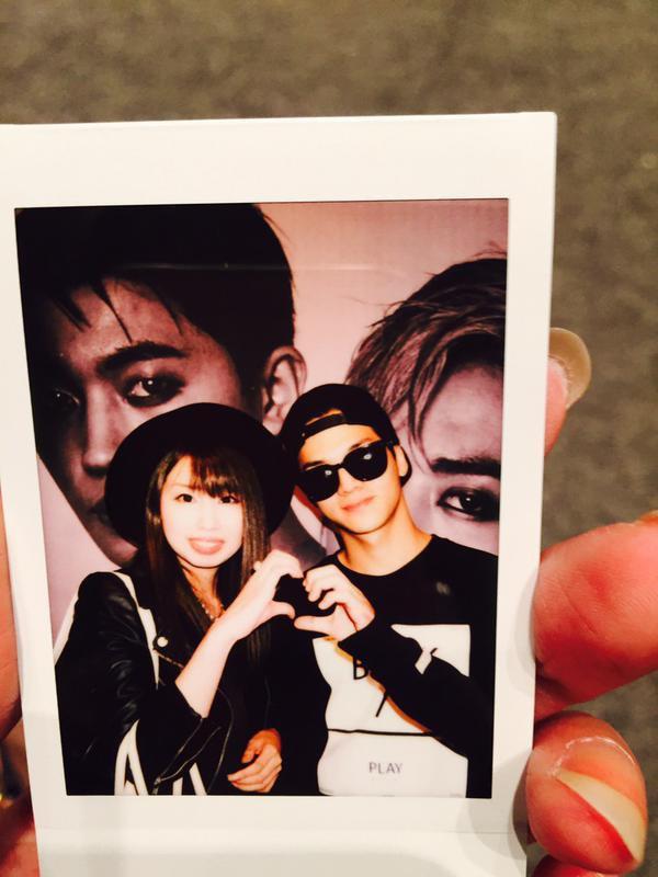 'NATURAL BORN TEEN TOP' Special Events in Odaiba #틴탑+[Tweet/Trans] 150910 .@tomoyama_aki 57m57 Angel 今日もありがとう!!#TEENTOP