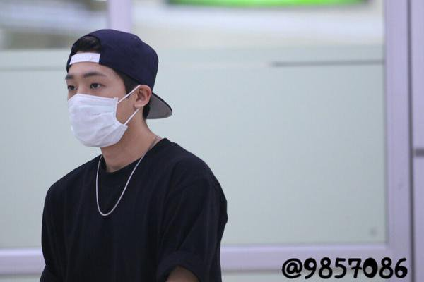 150913 #틴탑 Chunji arrived at Gimpo Airport (Back from Japan) PHOTOS