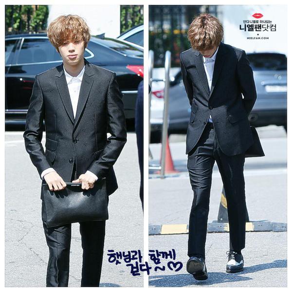 TODAY'S SCHEDULE] 150914  Chuseok Special Episode- Immortal Song 2 ( Niel, Changjo) PHOTOS+150914 TEEN TOP ON AIR