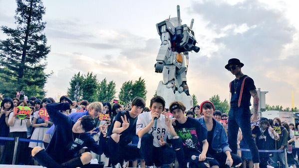 150917 [13:00 KST]  Idol Nationwide concours de chant spécial Chuseok (# TEENTOP PAC, Chunji, Niel, Ricky, Changjo)+