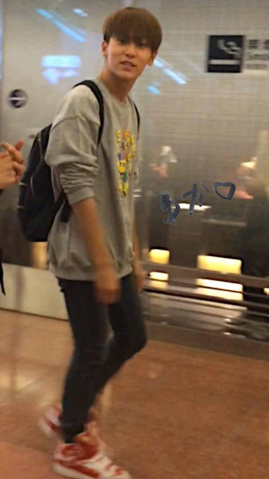 #틴탑 at Haneda Airport, Tokyo Japan (Arrival) photos