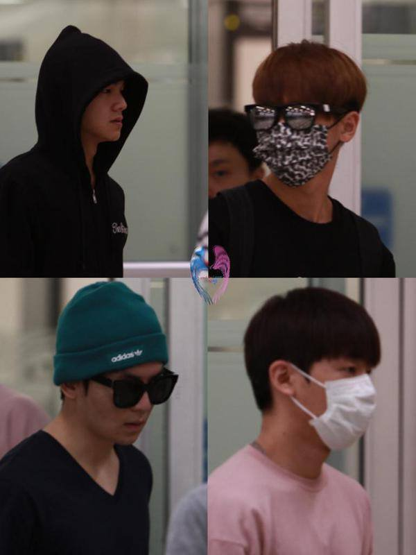 150924 #틴탑 at Gimpo Airport (Arrival) PHOTOS