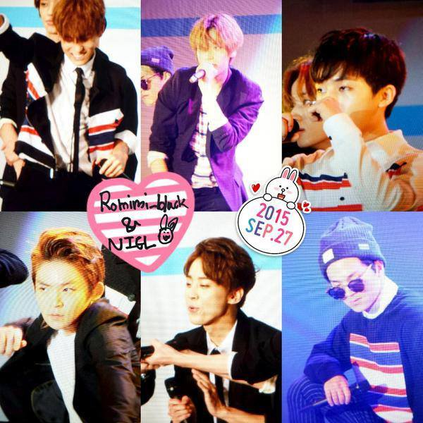 "Fancam] 150927 #틴탑 ""Ah-Ah"" at One Day Japan-Korea Festival in Japan.+ #틴탑 at Gimpo Airport (Arrival) PHOTOS"