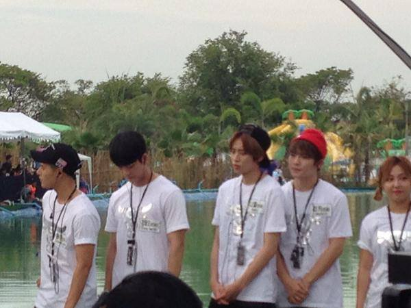 "150928 Teen Top (틴탑) - Niel 니엘 ISAC Idol Star Athletics Champion Cut+# TEENTOP éd., ""  Les échanges Japon-Corée du Festival 2015  de Tokyo. ""+ Niel & Ricky <Dream Team in Thailand (Recording)> PHOTOS"