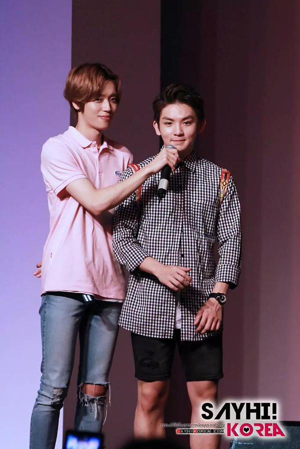 151002 # TEENTOP Niel & Ricky à la Corée Culture & Voyage festival @ Siam Paragon Hal