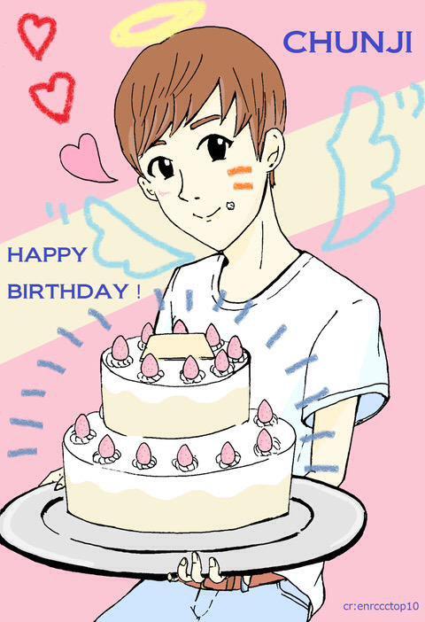 ANNIVERSAIRE DE CHUNJI DES TEENTOP 23 ANS AGE COREENS+Epilogue] 20151005 23rd chunji's birthday♥+