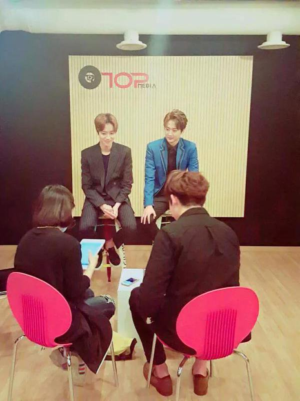 151017 강동대학교 실용음악과 FB Update: #TEENTOP Chunji & Niel Interview with GDU Sou nd today PHOTOS+151017 Lotte World Mall Love&Dream Concert. PHOTOS