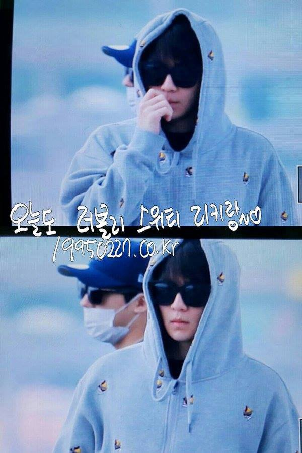 "151023 TEEN TOP at Incheon Airport heading to New York"" PHOTOS"