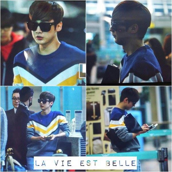 151105 TEEN TOP at Incheon Airport heading to Dubai PHOTOS
