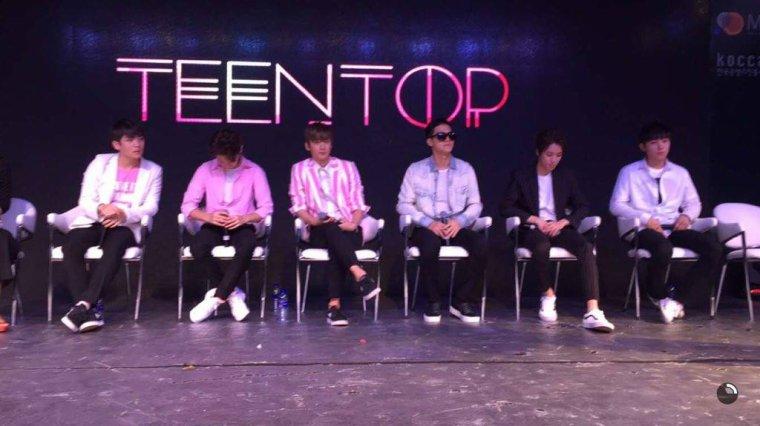 K-Pop Night in Dubai with TEEN TOP #TeenTop_in_Dubai photos